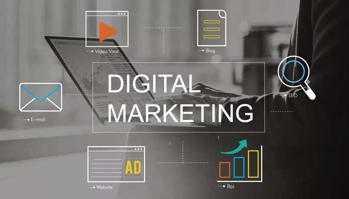 What is Digital media marketing