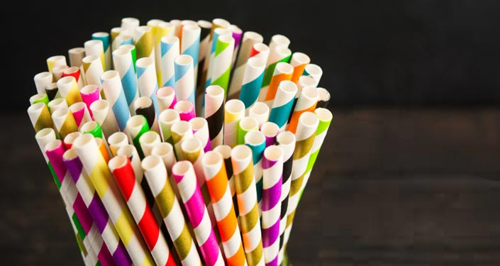 Working Of The Drinking Straws