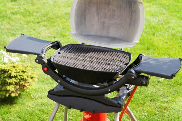 Clean the grates on the grill