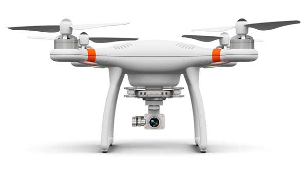 The payload capacity of the drone