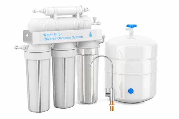 The reverse osmosis