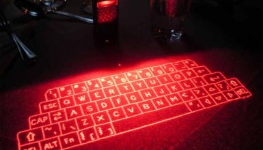 How Does the Laser Keyboard Works