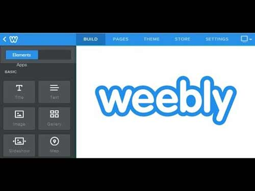 Use Weebly