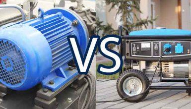 An Electric Motor VS An Electric Generator