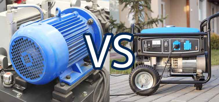 An Electric Motor VS An Electric Generator