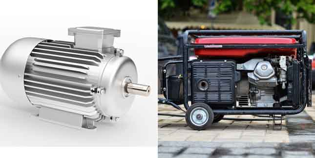 Electric Motor VS An Electric Generator