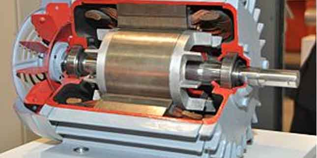 Electric motor follows