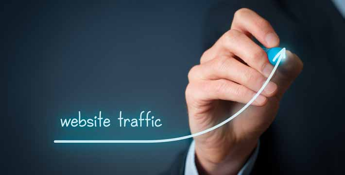 What Drives Traffic to A Website