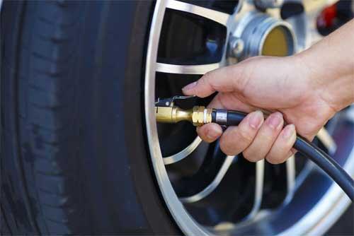 Repairing a tire inflator