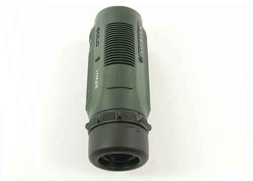 How can I check the magnification of monocular