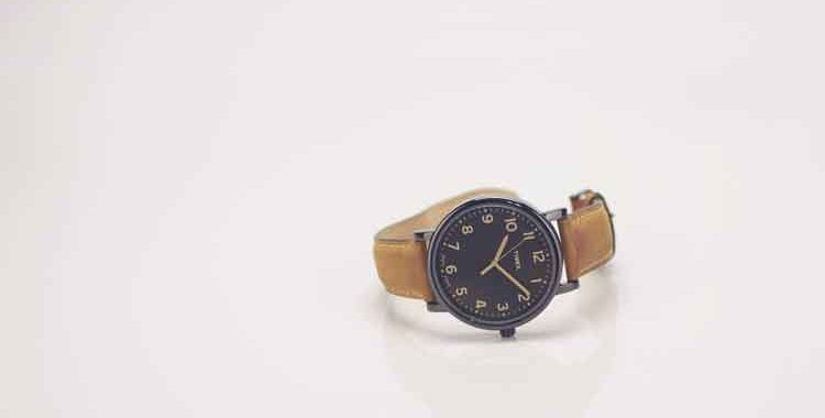 Don't Leave the Wristwatch Behind
