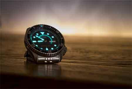 Wristwatch Behind