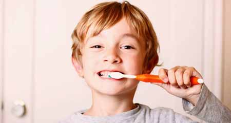 Brushing Teeth Before Going to Bed