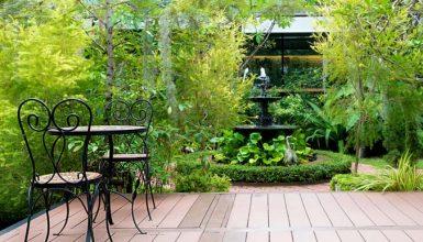 Landscape Design: Neglected Shady Site Becomes Meditation Garden