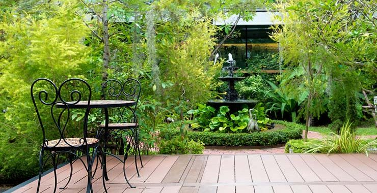 Landscape Design: Neglected Shady Site Becomes Meditation Garden