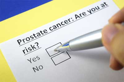 How does a man's prostate health compare with a woman's